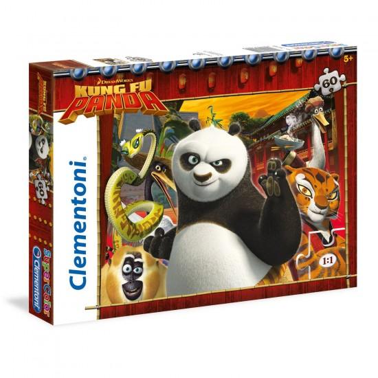 Puzzle 60 pièces : Kung Fu Panda - Clementoni-26941