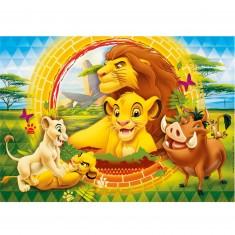 Puzzle 60 pièces : Le Roi Lion