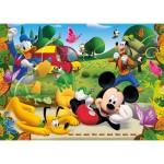 Puzzle 60 pièces : Mickey et ses amis