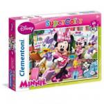 Puzzle 60 pièces : Minnie et Daisy