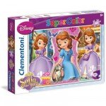 Puzzle 60 pièces : Princesse Sofia : L'art des manières royales