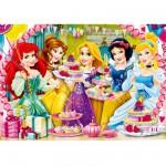 Puzzle 60 pièces : Princesses Disney : Joyeux anniversaire !
