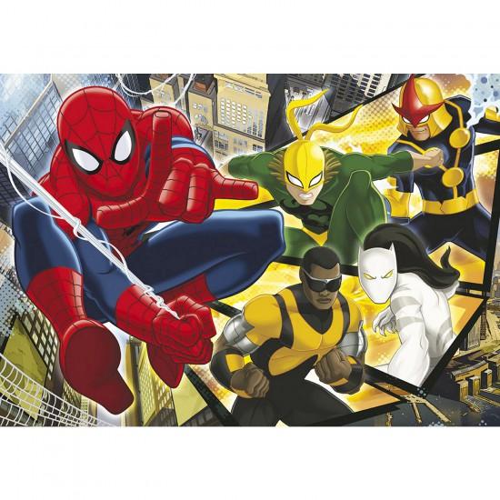 Puzzle 60 pièces : Ultimate Spiderman - Clementoni-26887