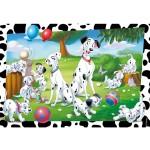 Puzzle 60 pièces : Velvet : Les 101 dalmatiens
