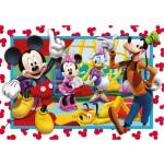 Puzzle 60 pièces : Velvet : Mickey et ses amis