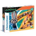 Puzzle 60 pièces : Zootopie