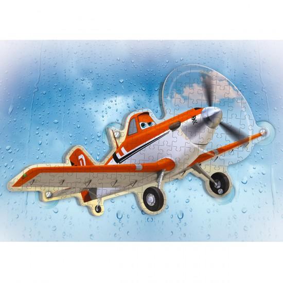 Puzzle 60 pièces double face : Window Puzzle : Planes - Clementoni-20111