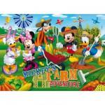 Puzzle 60 pièces maxi - Mickey et ses amis : Bienvenue à la ferme