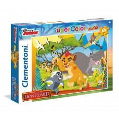Puzzle 60 pièces Maxi : La Garde du Roi Lion