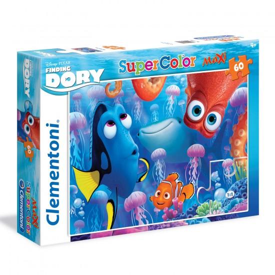 Puzzle 60 pièces Maxi : Le Monde de Dory - Clementoni-26582
