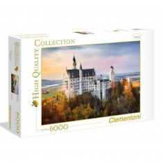Puzzle 6000 pièces : Neuschwanstein