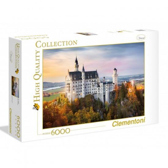 Puzzle 6000 pièces : Neuschwanstein - Clementoni-36522