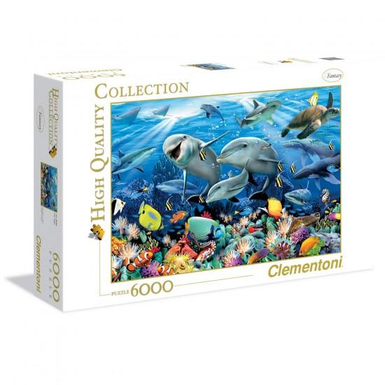 Puzzle 6000 pièces : Underwater - Clementoni-36521