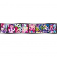 Puzzle 8 x 25 pièces : Story Puzzles en 8 images : Barbie