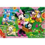 Puzzle cadre 15 pièces : Mickey, ses amis et leurs animaux
