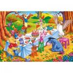 Puzzle cadre 15 pièces : Winnie l'ourson : Joyeux anniversaire !
