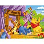 Puzzle cadre 15 pièces : Winnie l'ourson : Mr Sanderz