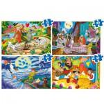 Puzzles de 12 à 35 pièces : 4 puzzles : Disney Classic
