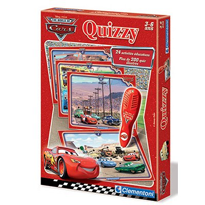 Quizzy  Cars - Clementoni-62541