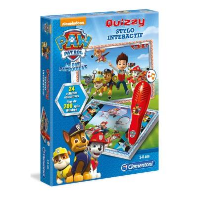 quizzy pat patrouille paw patrol jeux et jouets clementoni avenue des jeux