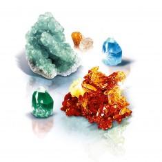 Science et jeu : Crée des cristaux