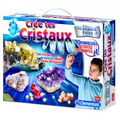 Science et jeu : Crée tes cristaux