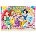 Puzzle 104 pièces : Princesses Disney : Cupcakes