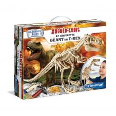 Science et jeu : Archéo-Ludic  Le squelette du Grand T-Rex