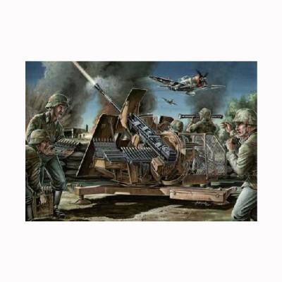 Maquette canon anti aérien allemand de 3.7 cm FlaK43 - CMKT-CMKT35005