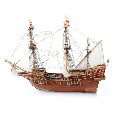 maquette bateau en bois golden hind constructo rue des maquettes. Black Bedroom Furniture Sets. Home Design Ideas