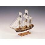 Maquette bateau en bois : HMS Bounty 1:110