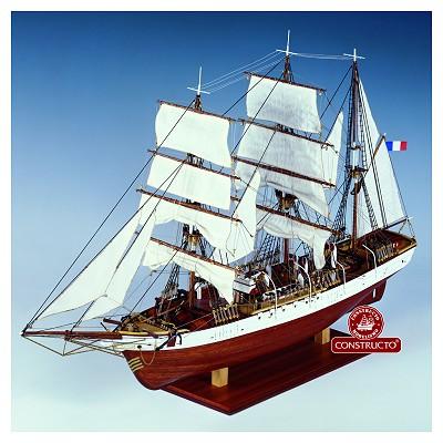 Maquette bateau en bois : Le Pourquoi Pas ? - Constructo-80835