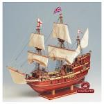 Maquette bateau en bois : Mayflower