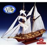 Maquette bateau en bois : Albatros