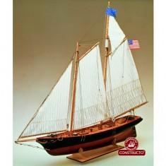 Maquette bateau en bois : America