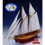 Maquette bateau en bois : Carmen
