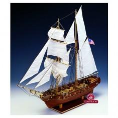 Maquette bateau en bois : Enterprise