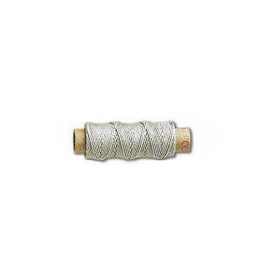 Accessoire pour maquette de bateau en bois : Fil de coton beige ø 0.75 mm par 15 m - Constructo-80062