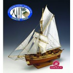 Maquette bateau en bois : Gjoa