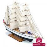 Maquette bateau en bois : Gorch Fock