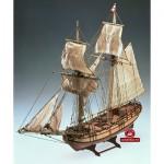 Maquette bateau en bois : Halifax