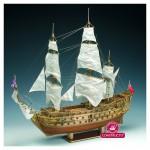 Maquette bateau en bois : HMS Prince