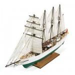 Maquette en bois - JS Elcano : Navire école