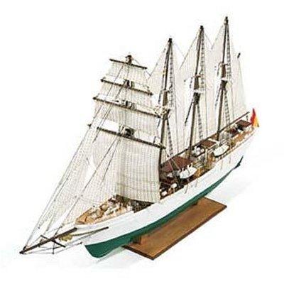 Maquette en bois - JS Elcano : Navire école - Constructo-80568