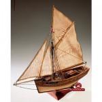 Maquette bateau en bois : Le Camaret