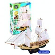 Maquette bateau en bois : Ligne 8h: Swift