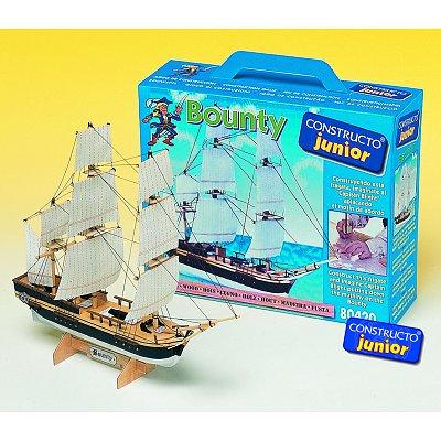 Maquette bateau en bois : Ligne Junior: Bounty - Constructo-80420