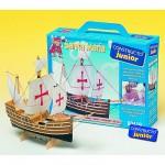 Maquette bateau en bois : Ligne Junior: Santa Maria