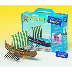 Maquette bateau en bois : Ligne Junior: Drakkar de viking