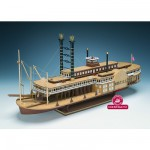 Maquette bateau en bois : Robert E. Lee